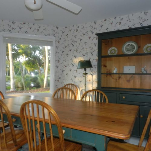 Breakfast room gives a bright and encouraging start to the day